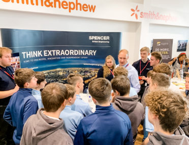 Ron Dearing UTC students get inside track on exciting careers at Apprenticeships Expo cover image