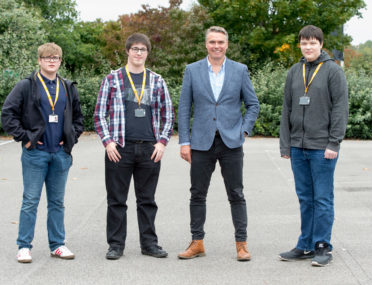 Three Ron Dearing UTC students chosen from hundreds of applicants for sought-after KCOM apprenticeships cover image