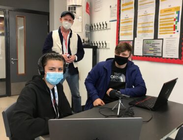 Students turn radio gurus as broadcast project teaches new skills cover image