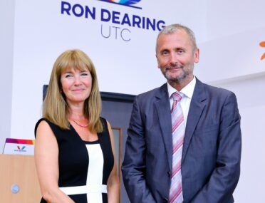 Principal pays tribute to 'inspirational driving force' behind Ron Dearing UTC cover image