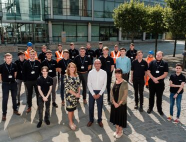 Fourteen apprentices recruited from Ron Dearing UTC by Spencer Group all secure full-time positions cover image